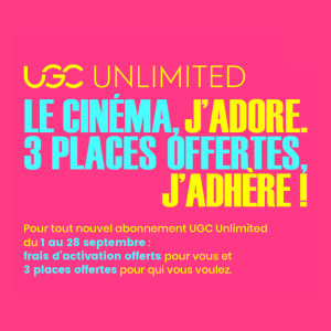 offre UGC unlimited Galerie Toison d'Or